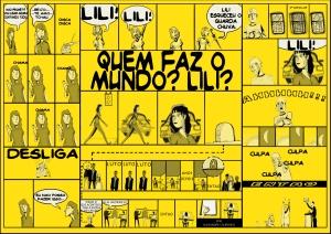 Quem faz o mundo, Lili? - Amarelo