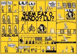 Quem faz o mundo, Lili? - Azul