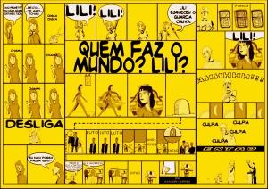 Quem faz o mundo, Lili? - Vermelho