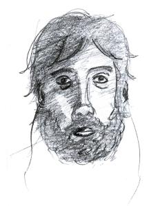 Auto-Retrato [Cretacolor 3B]