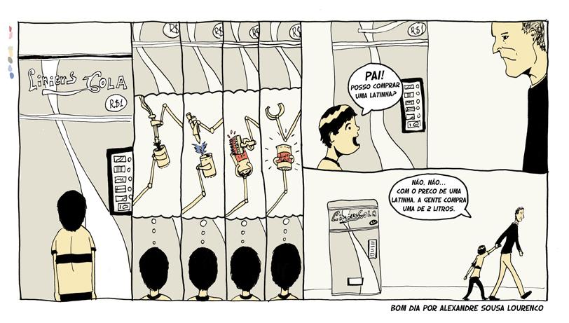 Bom Dia 0006: Liniers Cola