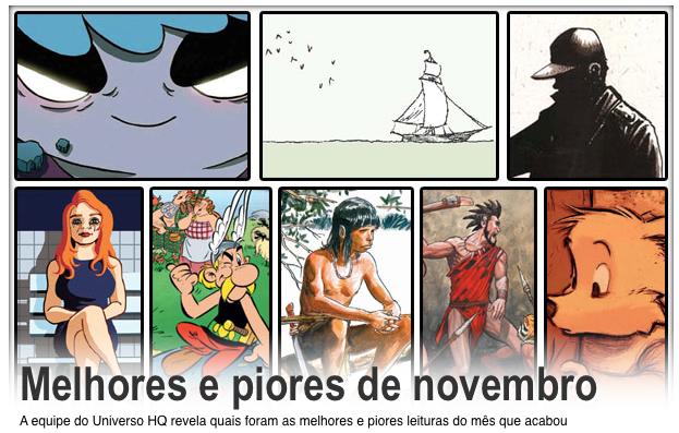 Melhores e Piores de Novembro